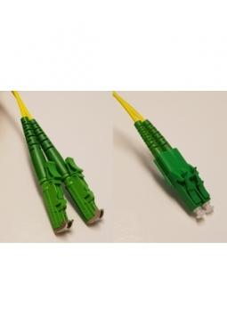 E2000-APC zu LC-APC OS2 Duplex Patch